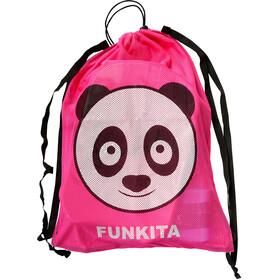 Funkita Mesh Gear Bag, aqua panda